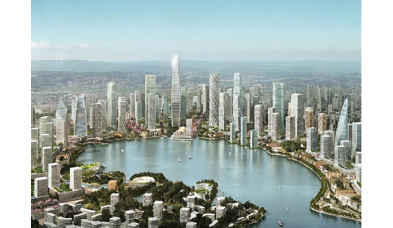 Meixi Lake Master Plan: This is How you Build a City Image