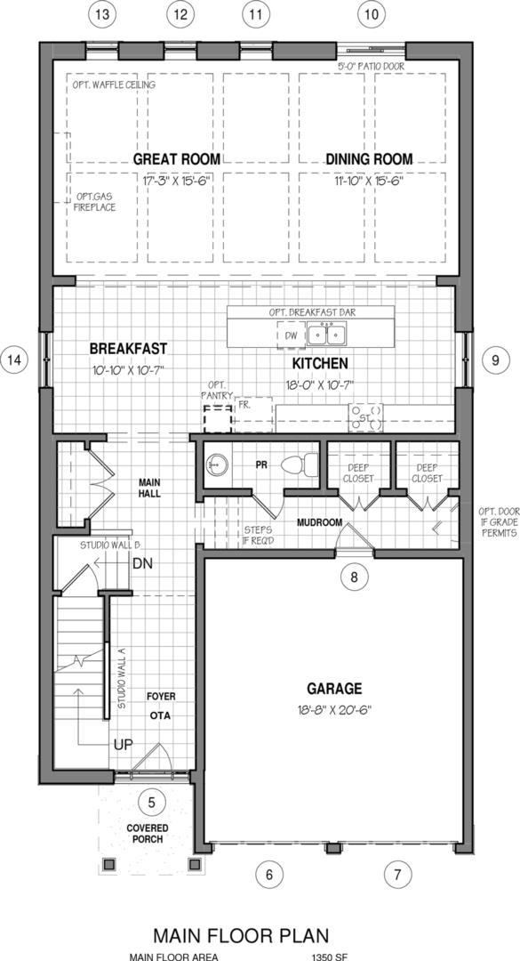 The Dawn B Floorplan 1