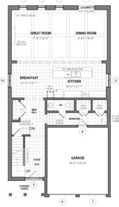 The Dawn A Floorplan 1