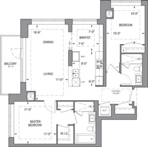 Building B - Typical Suites - 2J