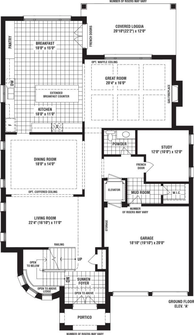 Silver Creek Floorplan 1
