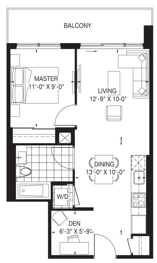 The Oasis Collection - Pearl Floorplan 1