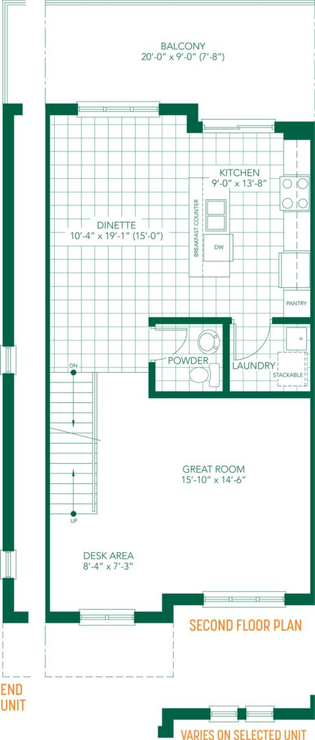 The Amore Floorplan 2
