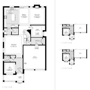 Lot 50 - Wentworth D Floorplan 1