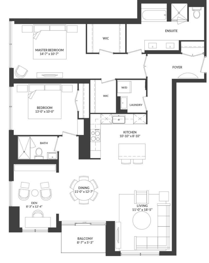 Suite 04 Floorplan 1