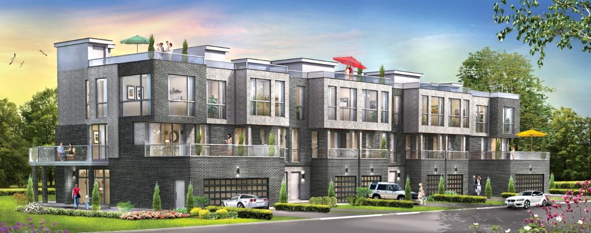 DIAM's Radiance townhomes now come with a free smart home system! Image