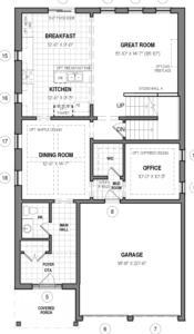 The Hail A Floorplan 1