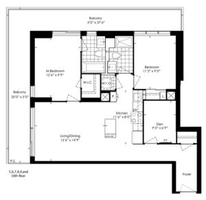 2A+D Floorplan 1