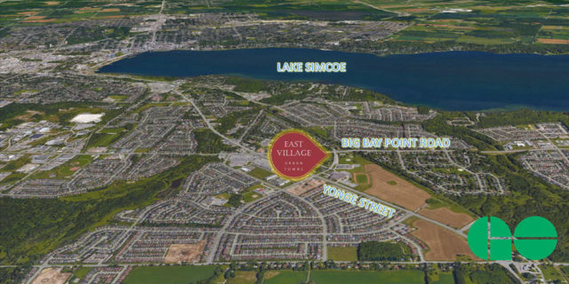 East Village Urban Towns in Barrie by Camdar Homes