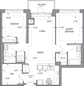 Building B - Typical Suites - 2F+D