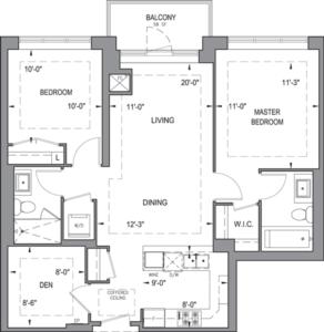 Building B - Typical Suites - 2F+D