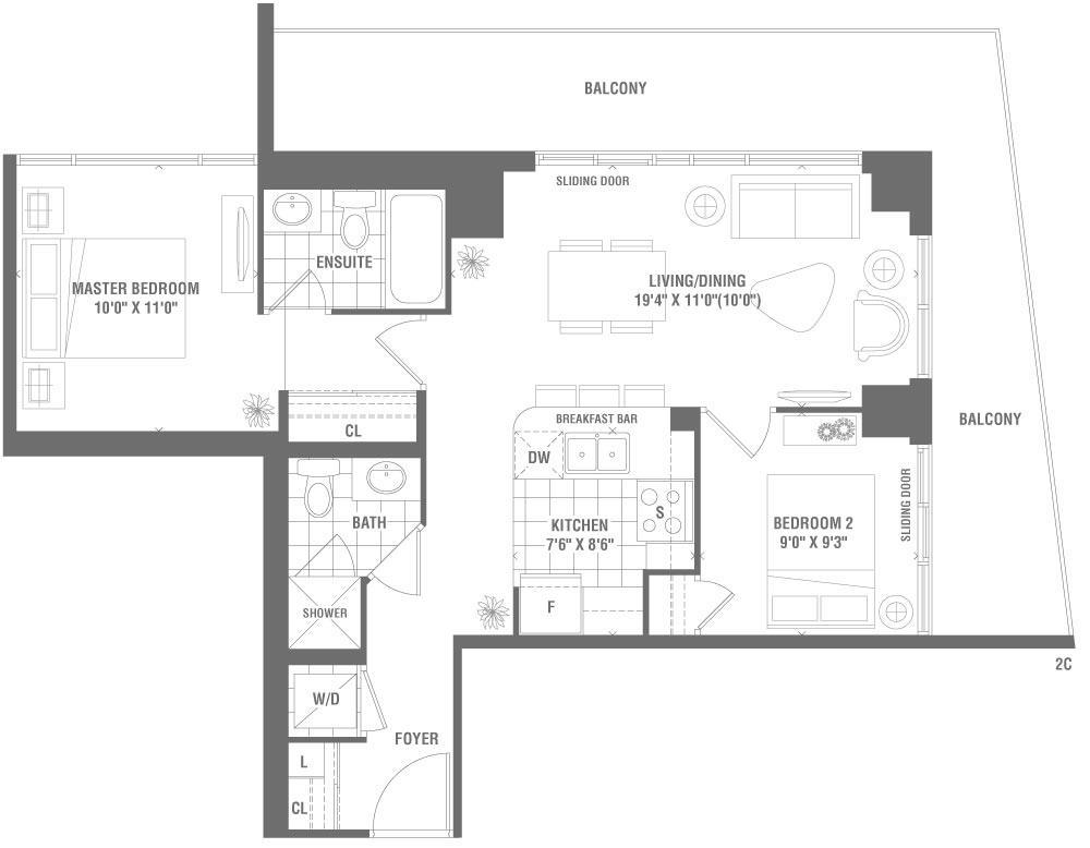 Piazza Floorplan 1