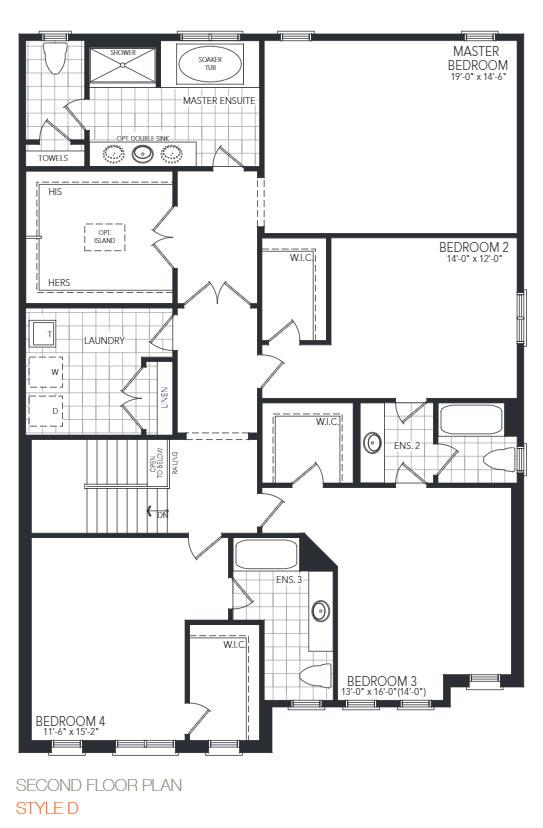 The Gloucester Floorplan 2