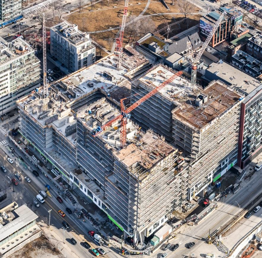 Minto Westside in Toronto topping off soon! Image