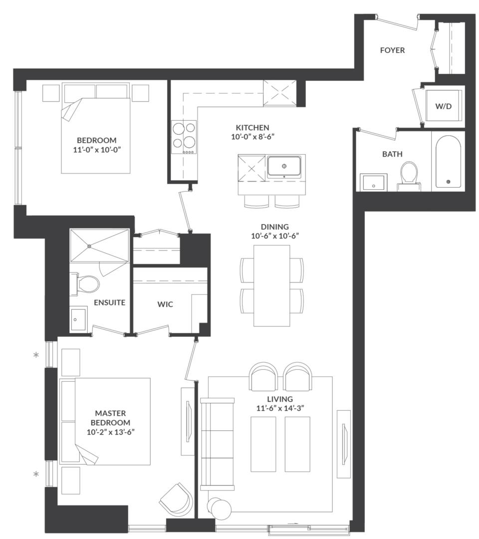 Suite 06 Floorplan 1