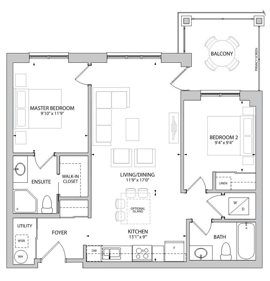 The Ainsdale Floorplan 1