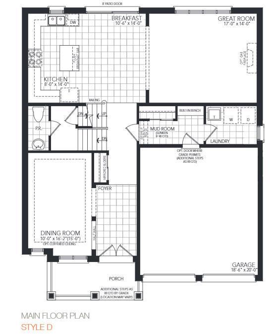 The Berkley Floorplan 1