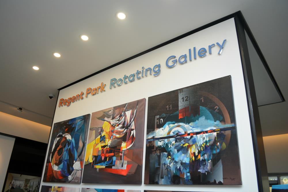 Regent Park Rotating Gallery by Daniels