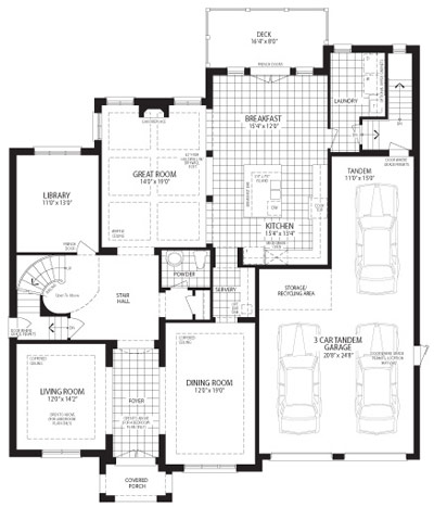 The Cypress Floorplan 1