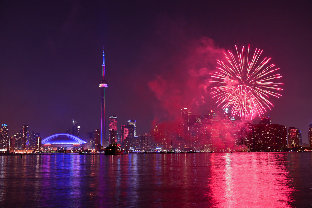 Where to watch Canada Day fireworks in Toronto Image