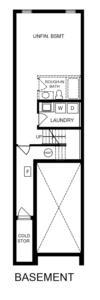 End Unit 3 Bedroom Floorplan 3