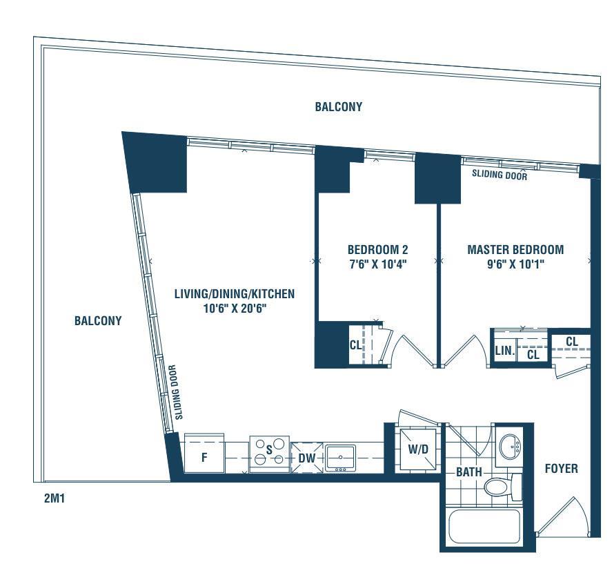 Newport Floorplan 1