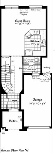 The Belevedere 3 Floorplan 1
