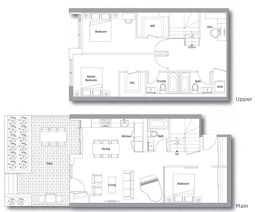 Villa 203 Floorplan 1