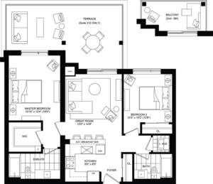 Radiate Floorplan 1