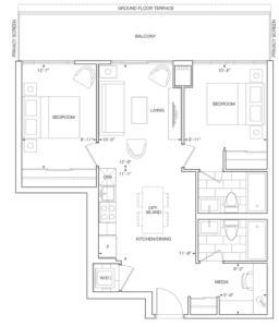 St. Regis Floorplan 1