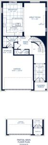 The Brockton B Floorplan 1