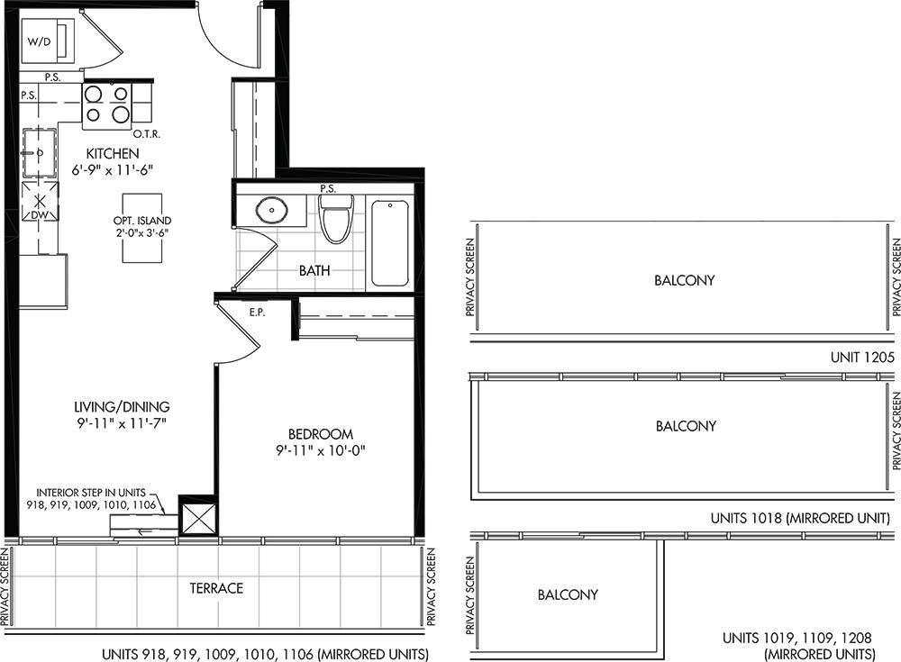 1-D Floorplan 1