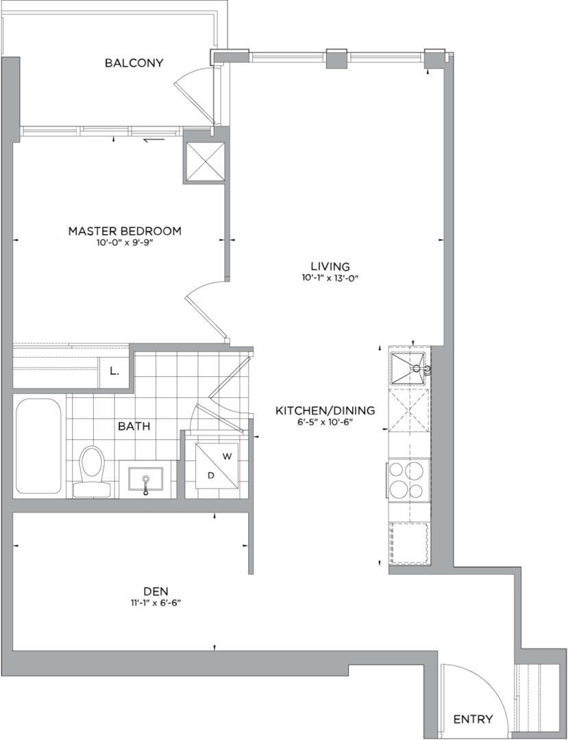B-631 Floorplan 1