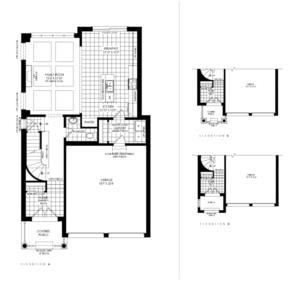Lot 52 - Leith B Floorplan 1