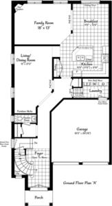 The Windermere 27 Floorplan 1
