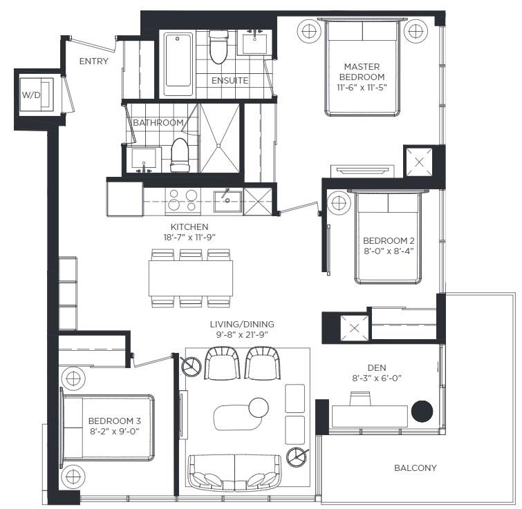 Saint Charles Floorplan 1
