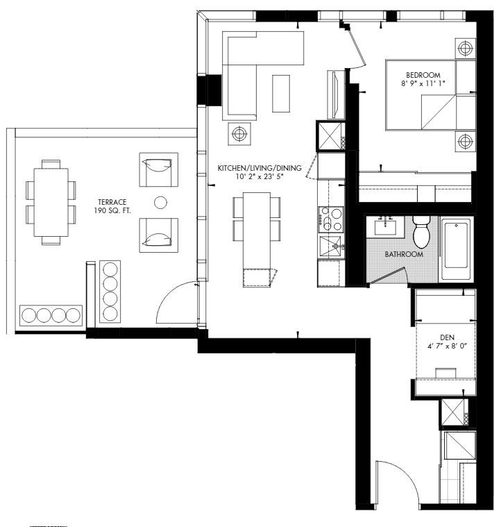 Yorkville 55 Floorplan 1