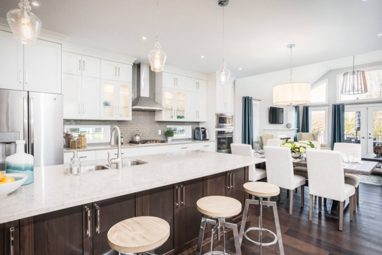 The Heritage Lane model home in Fergus is now available! Image