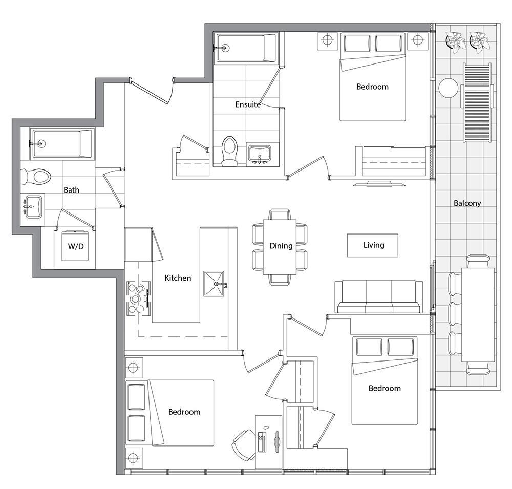 Upper (East Tower) 03 Floorplan 1