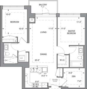 Building B - Typical Suites - 2E+D