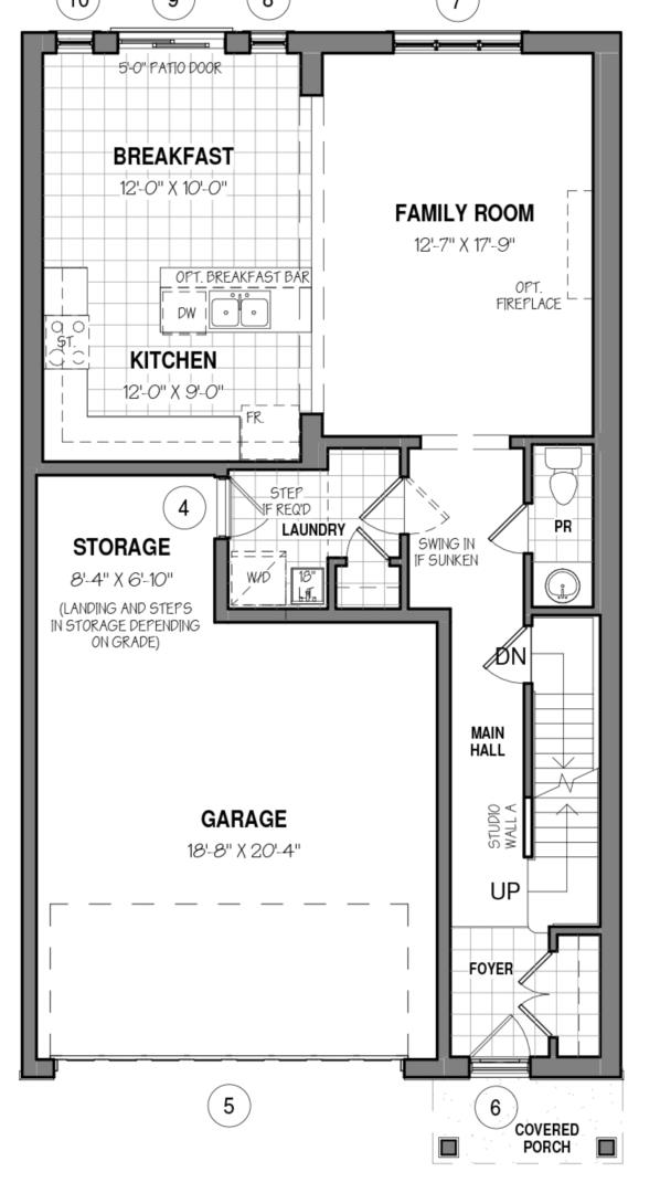 The Rockwell 34 IV A Floorplan 1