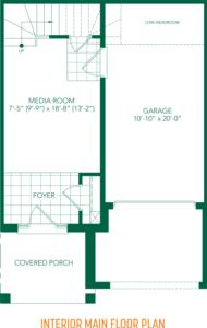 The Tulip Floorplan 1