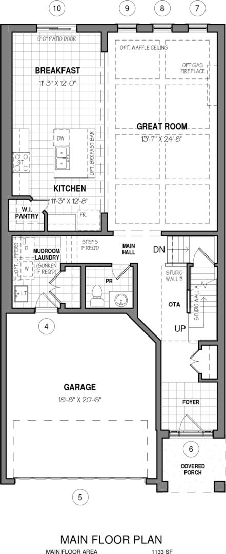 The Kahlo B Floorplan 1