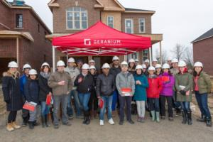 Hard Hat Tour gives Geranium purchasers a behind the scenes look at construction Image