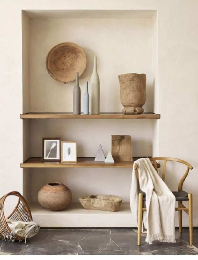 Warm up your living space with wood accessories