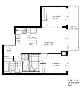2A Floorplan 1