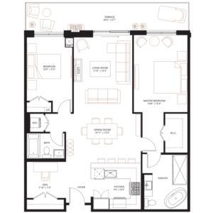 PH-XVIII Floorplan 1
