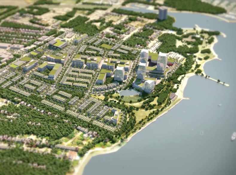 West Village plans unveiled for Mississauga waterfront Image