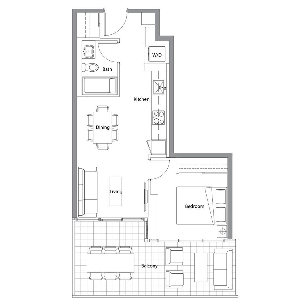 West Tower 03 Floorplan 1