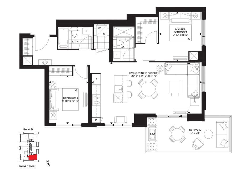 Hermitage Floorplan 1